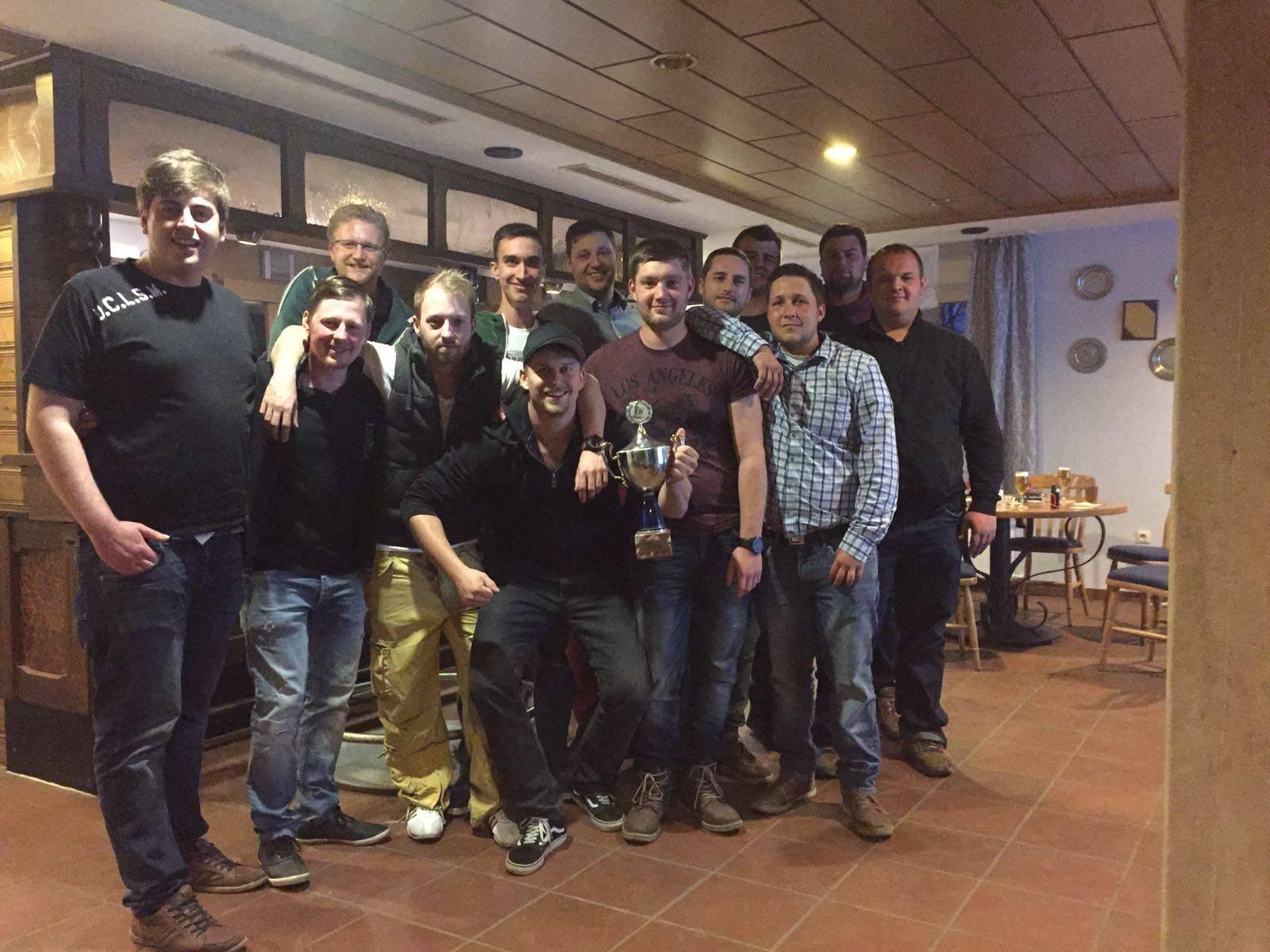 Max Temberg gewinnt Pokalschießen der IV. Kompanie
