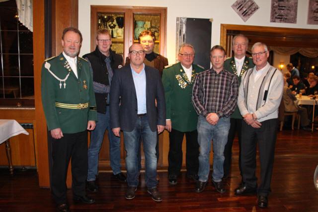 Ehrungen und Vorstandswahlen standen im Mittelpunkt der Jahreshauptversammlung des BSV Bruckhausen 1730 e.V.